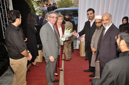 High Commissioner of Canada, Officiates at the KKT Launch