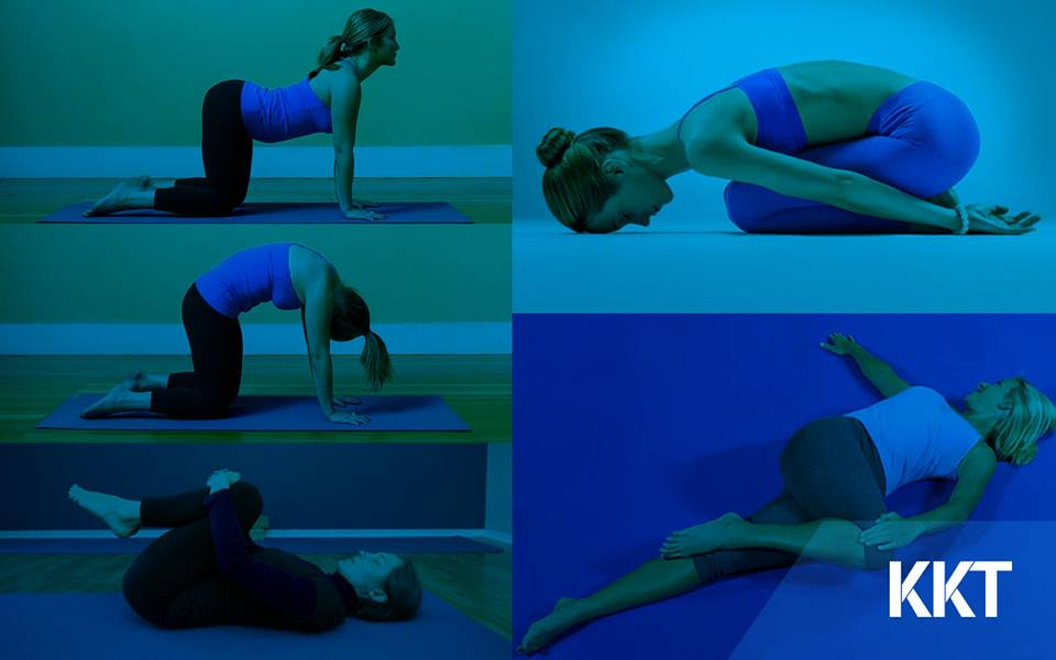 Five Stretches to ease back pain and fatigue