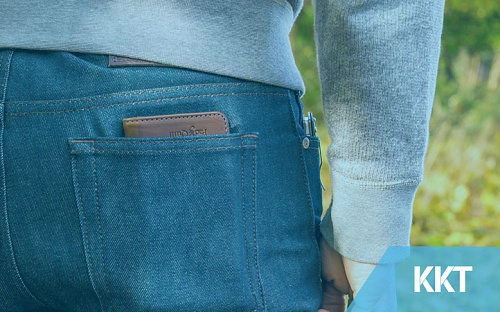 Wallet in your back pocket – Not a good idea