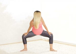 Back Pain Pregnancy Squat Twist