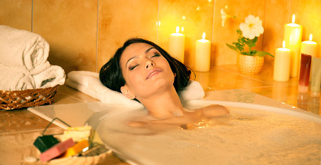 Heat Therapy Lower Back Pain Hot Bath