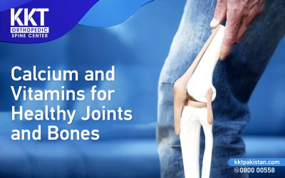 Calcium and Vitamins for Healthy Joints and Bones