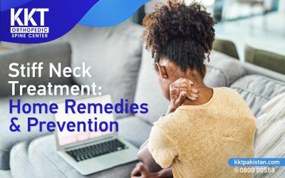 Stiff Neck Treatment: Home Remedies & Prevention
